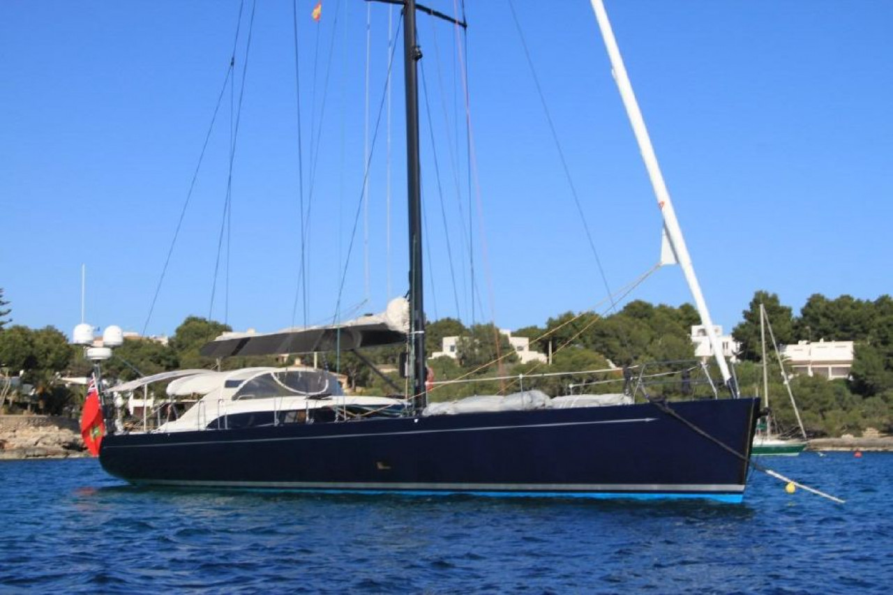 Парусная яхта SHIPMAN 63