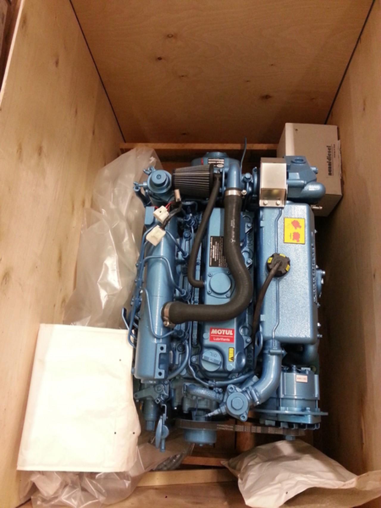 Дизельный двигатель NANNI N4 60Hp - TMC 260 1:2,47 R